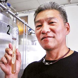 Hideki Mochizuki, head brewer of Atsugi Beer