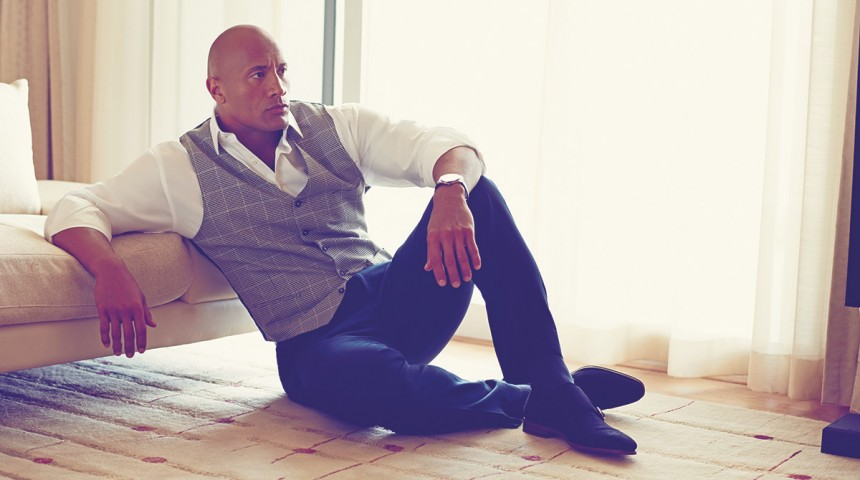 Another Side of Dwayne Johnson