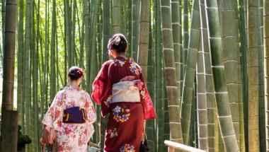 Kimono in the Forest