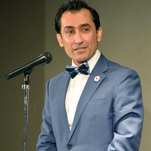 Founder of NPO Runway for Hope Dr. Sena O. Vafa