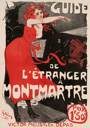 Foreigner's Guide to Montmartre, 1900