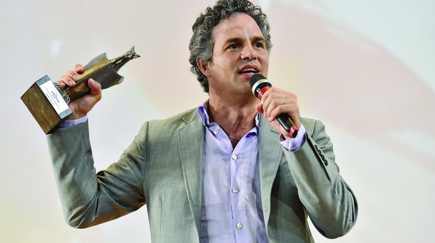 Mark Ruffalo Honored at Giffoni Film Festival