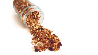 Pan-Roasted Cinnamon Honey Granola