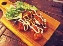 Soy karaage at Hang Out