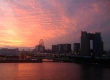 photos-allan-murphy-odaiba-sunset