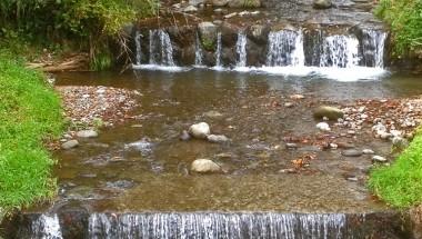 Falling water in Oyama
