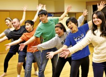 International actors rehearsing for TTFC's The Jungle Book