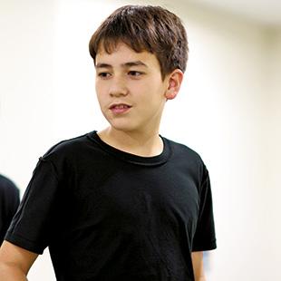 Jun Ito, who plays Mowgli in The Jungle Book