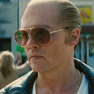 Depp as Whitey Bulger