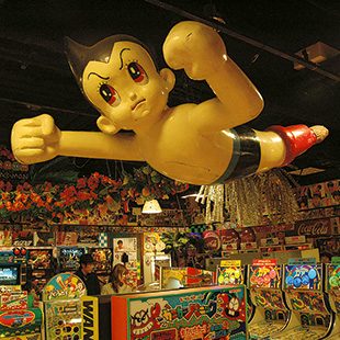 Astro Boy at the Daiba-itchome Shotengai