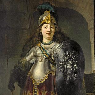 "Rembrandt van Rijn, ""Bellona"", 1633"