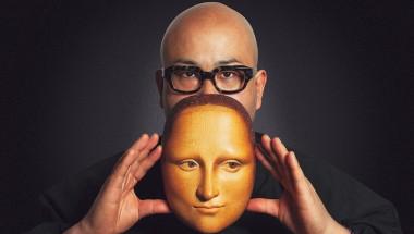 Bidou Yamaguchi turns masterpieces into masks