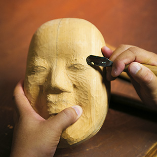 Crafting the mask