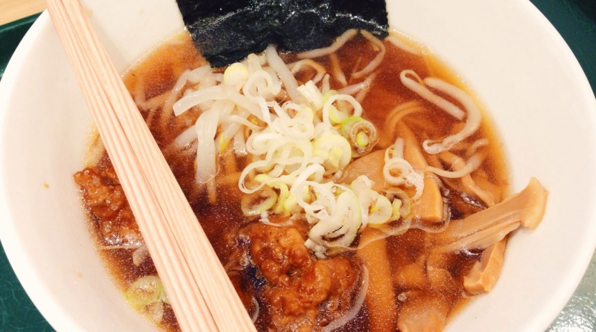 Vegetarian Ramen in Tokyo