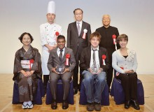 Award ceremony for the 7th Soy Sauce Recipe & Story Contest