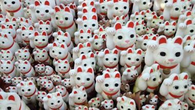 The Kitty Corners of Gotokuji
