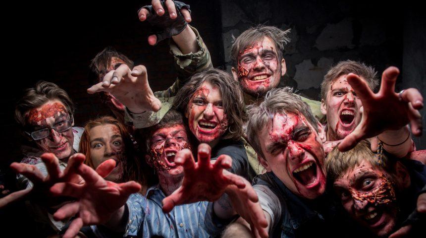 Zombie Night. Zombie Fright!