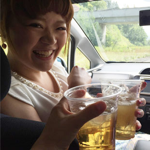 Kampai! (photo by Tamatha Roman)