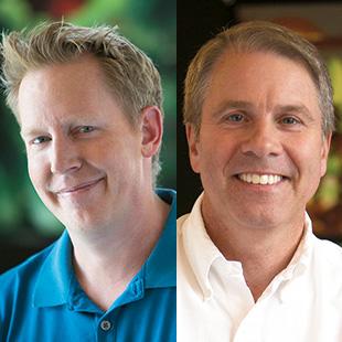Jared Bush (left), Clark Spencer (right)
