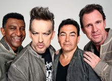 Left to right: Mikey Craig, Boy George, Jon Moss, and Roy Hay