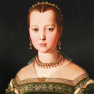 Bronzino Portrait of Maria de' Medici (1551)