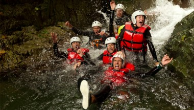 Canyoning in Japan