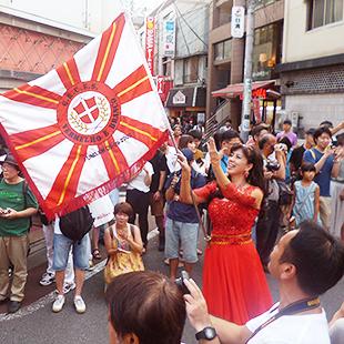 Summer festival in Shimokitazawa