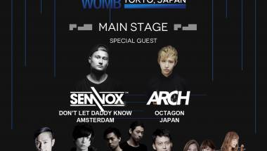 Collaboration party with Seoul's Octagon Club at Womb
