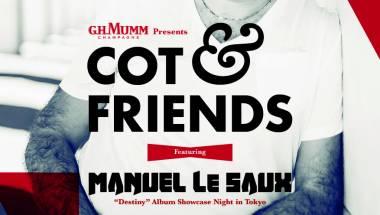 """G.H. Mumm presents """"COT & Friends feat. Manuel Le Saux"""""""