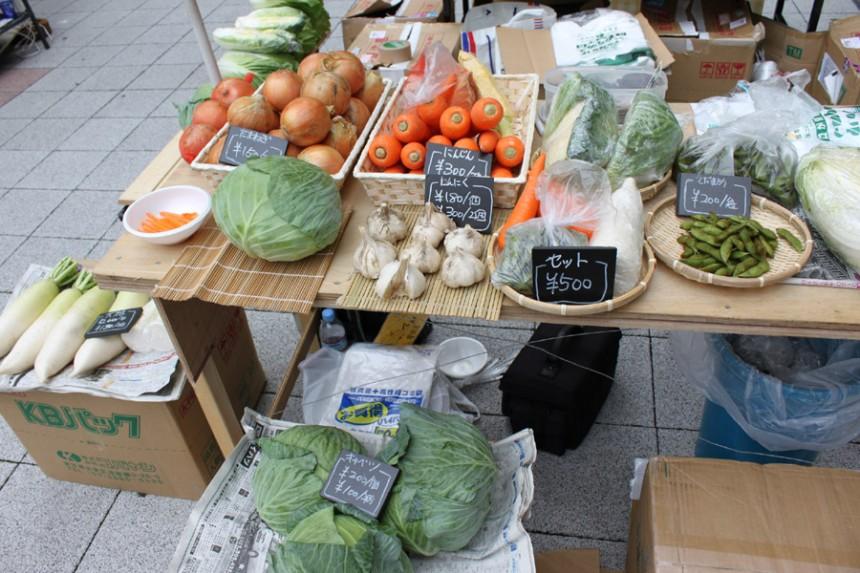 Nippori Marche Aomori vegetables