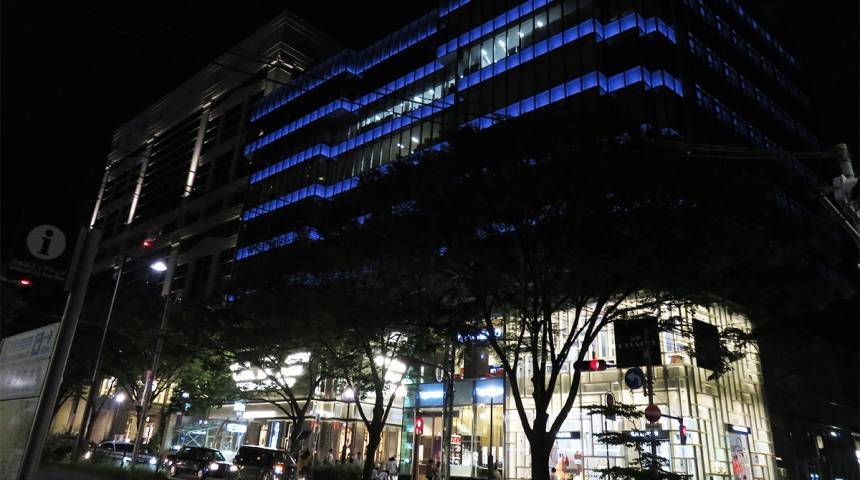 Architecture Crawl: Omotesando