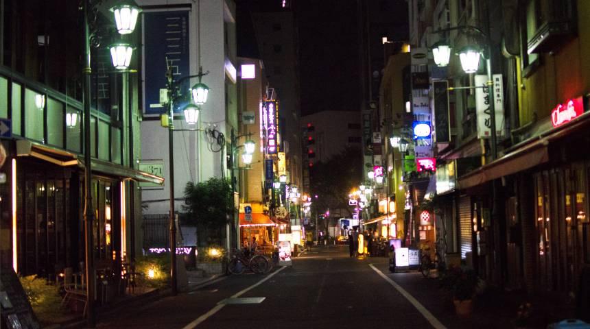 Sleepless in Shinjuku
