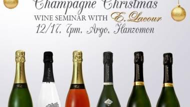 Champagne Christmas Wine Seminar