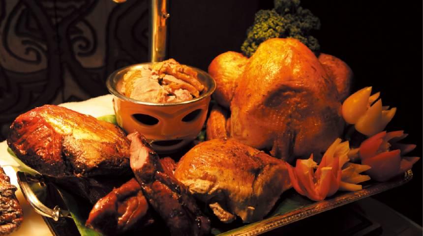 Trader Vic's Thanksgiving Dinner