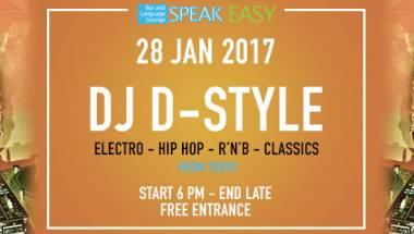 DJ D-Style Mix @ SPEAK EASY