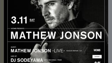 WOMB Presents Mathew Jonson