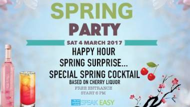 Spring Party 2017: Special Cocktails & Surprises!