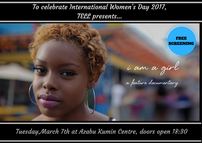 To celebrate International Women's Day 2017, TELL presents...