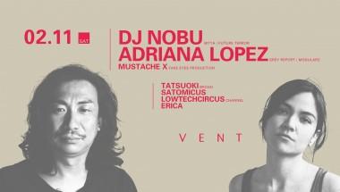 DJ Nobu × Adriana Lopez
