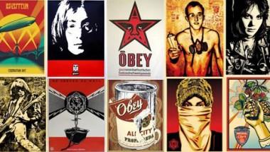 Shepard Fairey's Graffiti Art