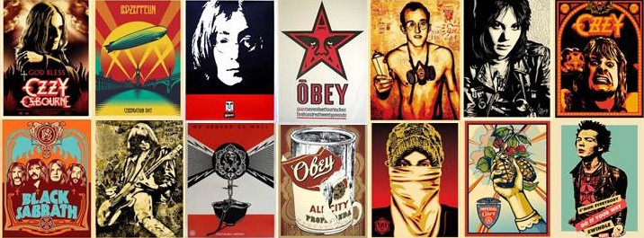 Obey Graffiti Artist