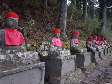"""Around 70"" Jizo statues"