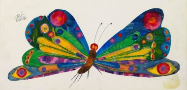 Variant art from The Very Hungry Caterpillar © Eric Carle