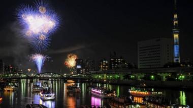 Suminda River fireworks