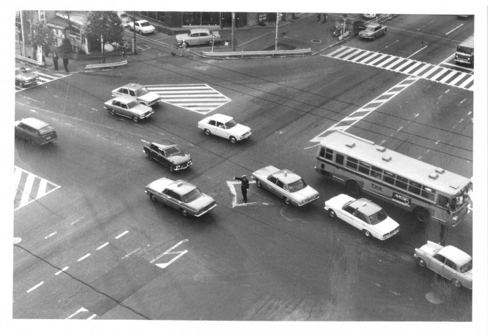 Omotesando Crossing Photo courtesy of 白根記念渋谷区郷土博物館・文学館