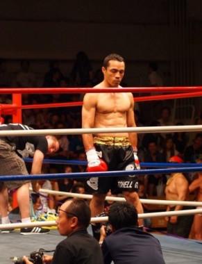 professional kickboxer Johnny Oliveira