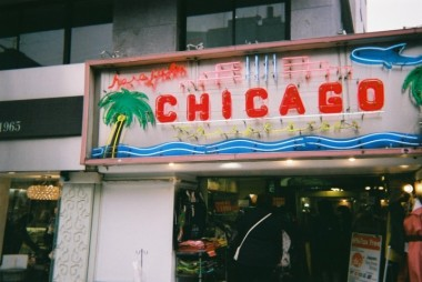 Omotesando ChicagoSign