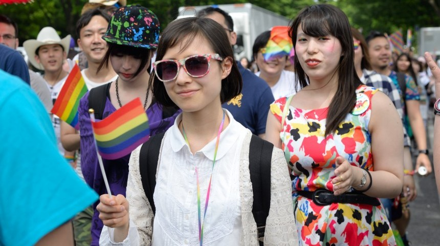 Gay marriage promotes homosexuality in japan