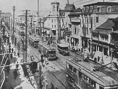 Ginza circa 1922. From Wikimedia Commons