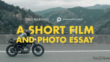 Gui Martinez x poweredby.tokyo • A Short Film and Photo Essay